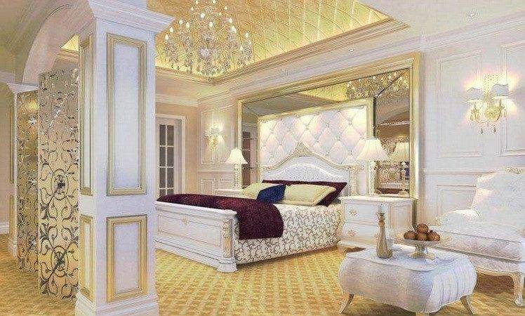Gold White Bedroom Ideas Good Vintage Vibe