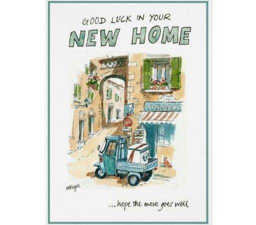 Good Luck Your New Home Greeting Card Zazzle
