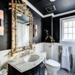 Gorgeous Black Vanity Ideas Stylishly Unique Bathroom