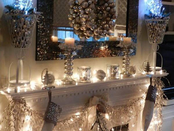 Gorgeous Christmas Mantel Decoration Ideas Tutorials