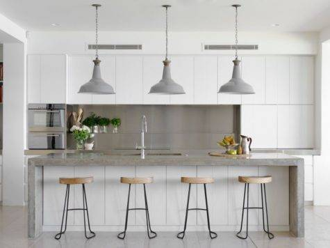 Gorgeous Grey White Kitchens Get Their Mix Right