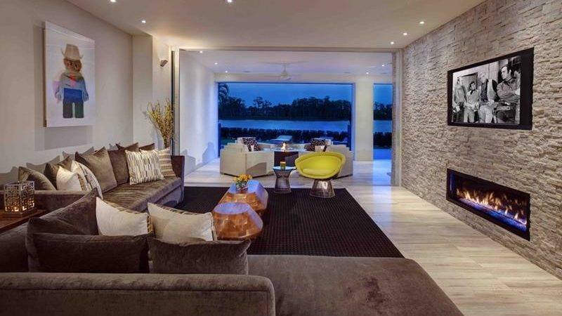 Gorgeous Living Rooms Accent Walls