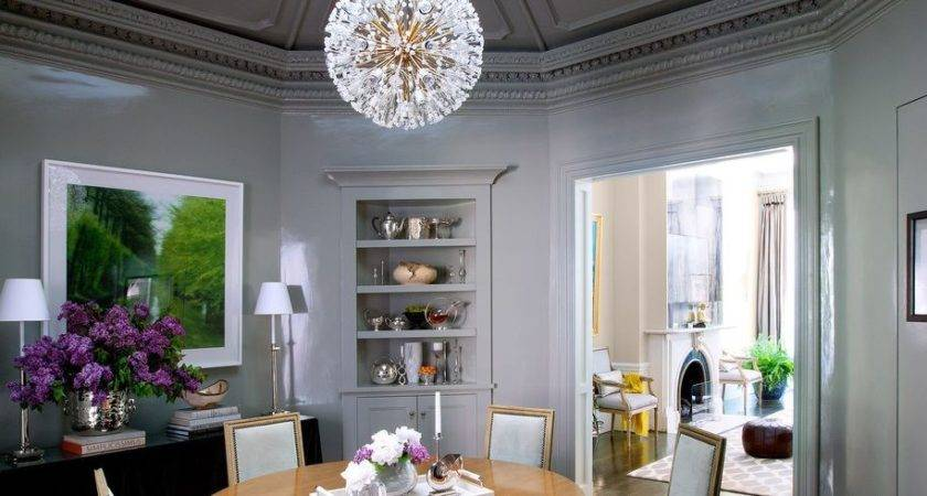 Gorgeous Small Chandeliers Dining Room