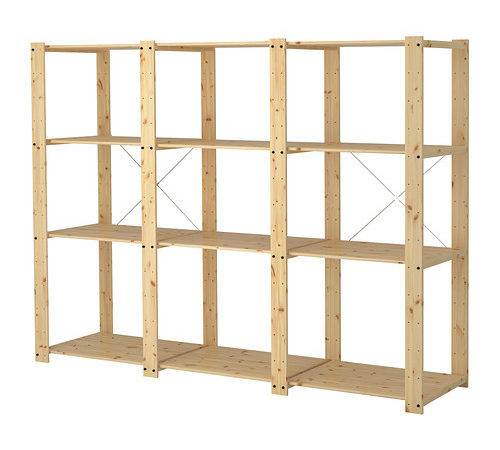 Gorm Sections Shelves Ikea