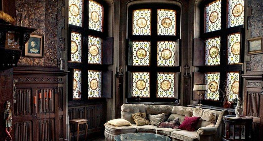 Gothic Victorian Home Interior Fres Hoom