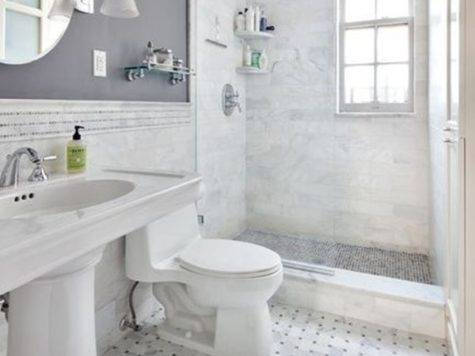 Gray Bathroom Decoration Ideas