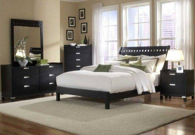 Gray Bedroom Colors Black Furniture Decolover