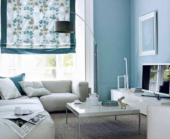 Gray Blues Living Room Pinterest Accent Walls