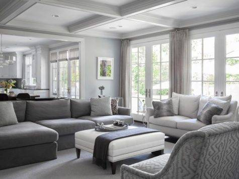 Gray Tones Living Room Peenmedia