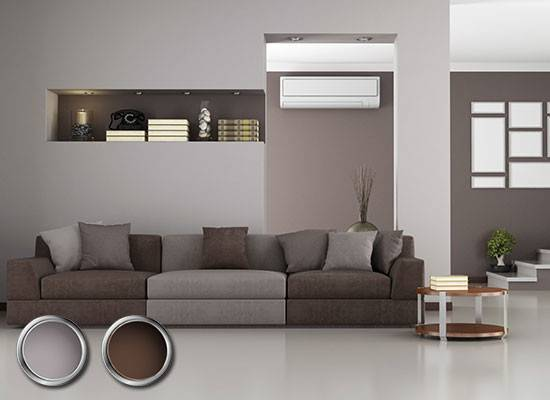 Great Color Combinations Brown Furniture