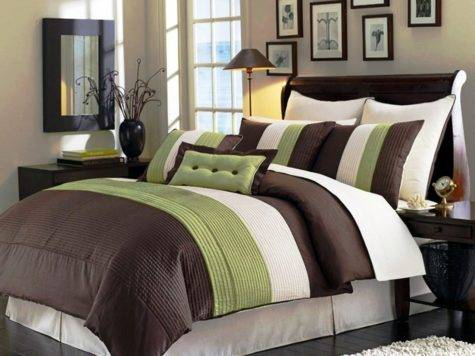Green Bedding Bedroom Decor Ideas