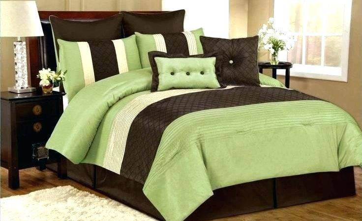 Green Brown Comforter Sets Slimproindia