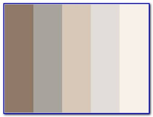 Grey Brown Color Schemes Painting Home Design Ideas