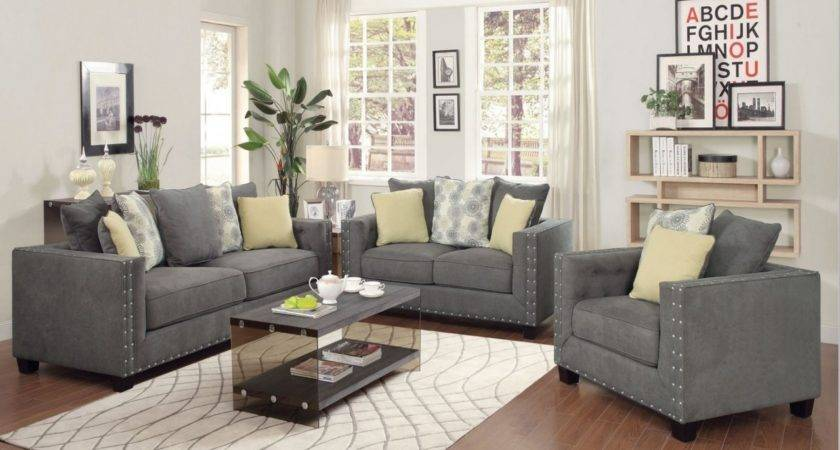 Grey Living Room Furniture Sets