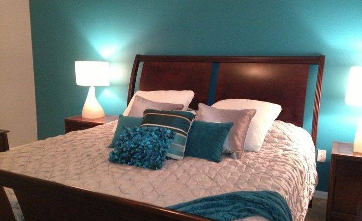 Grey Teal Bedroom Master