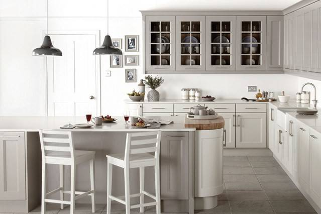 Grey White Kitchen Decorating Ideas Decor