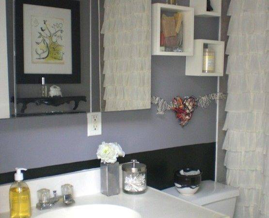 Grey White Panel Led Bathroom Ideas
