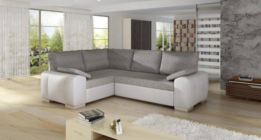 Grey White Sofa Living Room Interior Design Thesofa