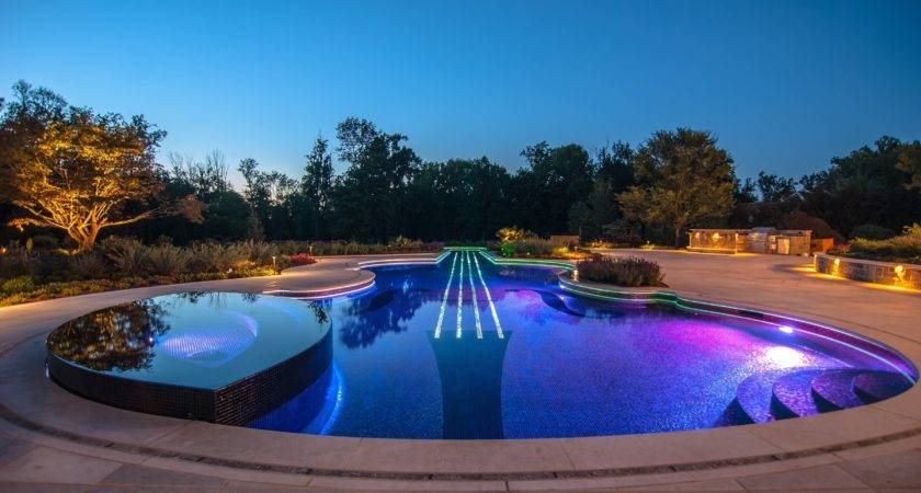 Guitar Shaped Swimming Pool High Definition