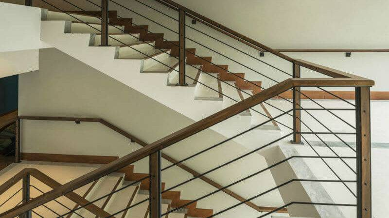 Hand Railing Stairs Attractive Models