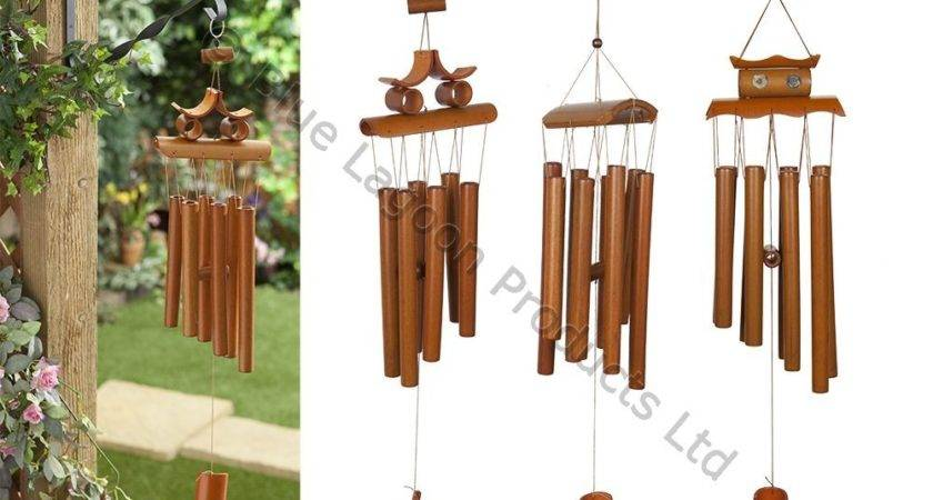 Hanging Bamboo Wind Chime Decorative Outdoor Ornament