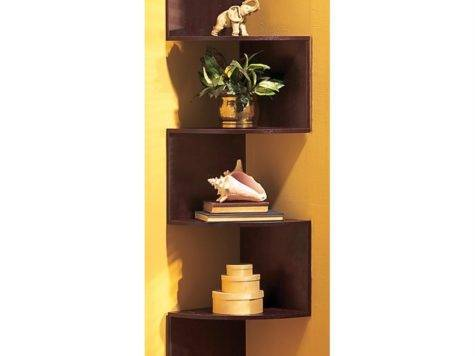 Hanging Corner Shelves Housekeeping Storage