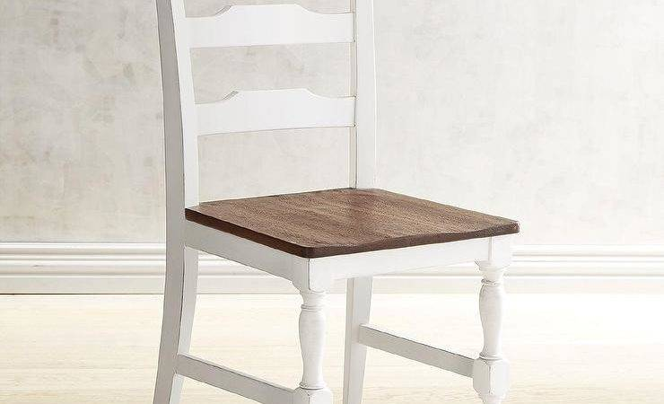 Heartland Distressed White Dining Chair