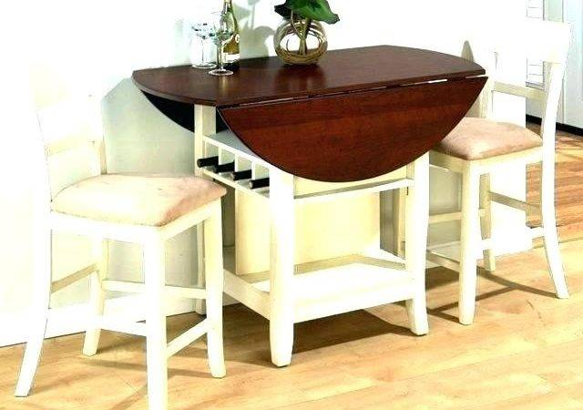 Hidden Dining Table Cabinet Regarding Cozy Decoration