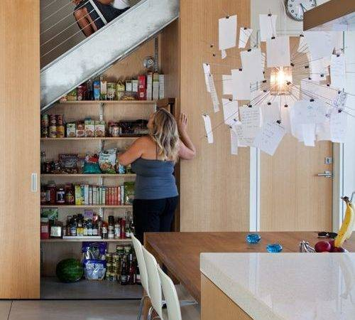 Hidden Pantry Under Stairs Home Design Ideas