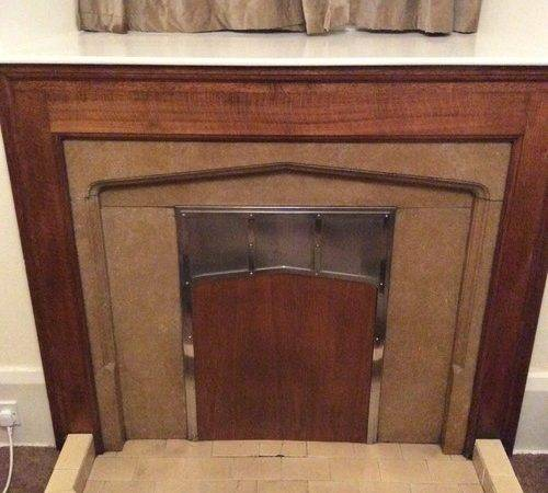 Hiding Ugly Unused Fireplace