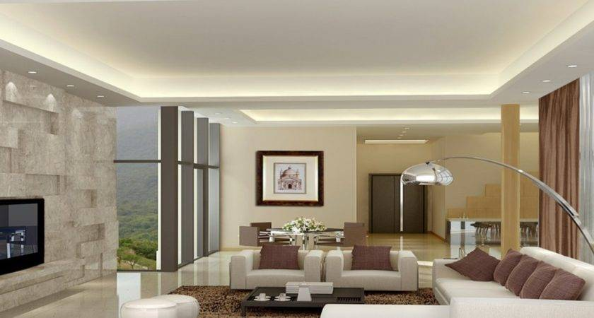 High Ceiling Living Room Interior Design All