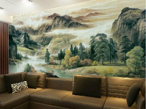 High Quality Spectacular Landscapes Mural