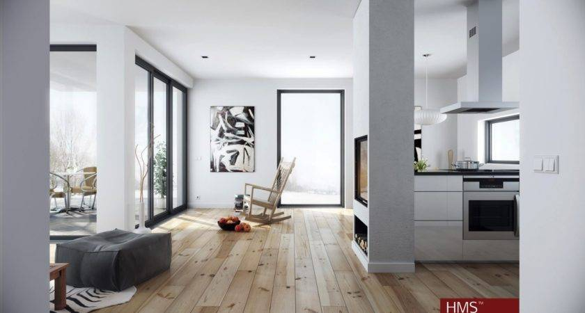 Hoang Minh Nordic Style Living Wood White