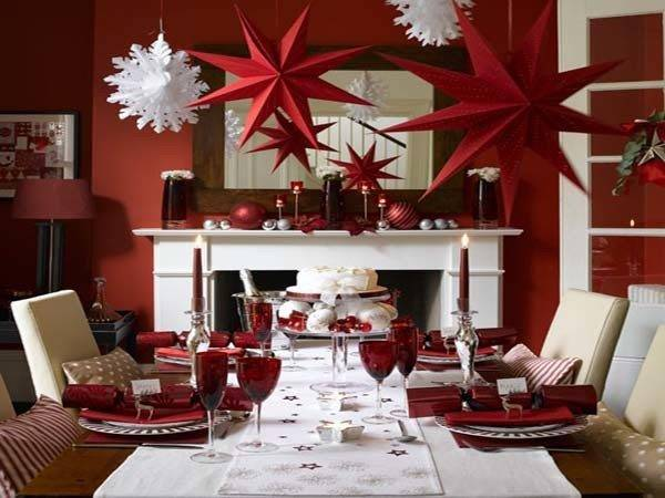 Holiday Evening Meal Space Table Decoration Ideas Decor