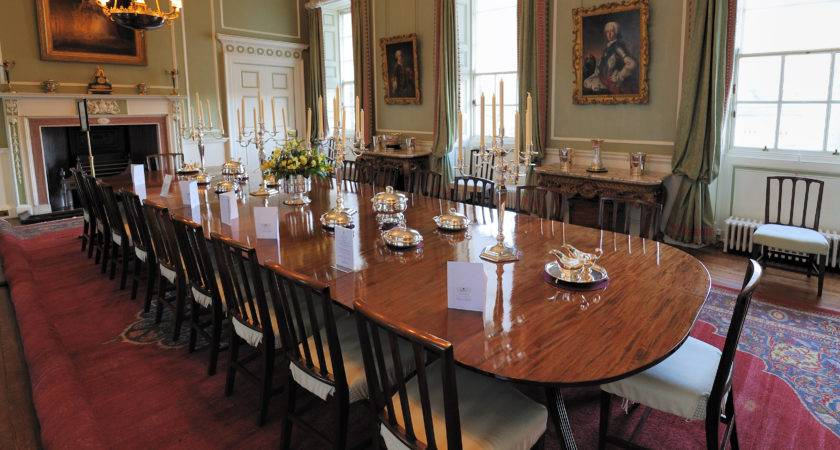 Holyrood Palace Dining Room Wikimedia Commons