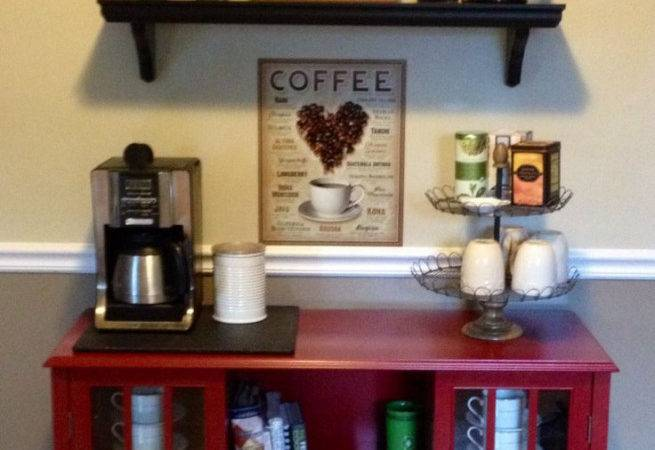 Home Coffee Bar Furniture Lighting Design