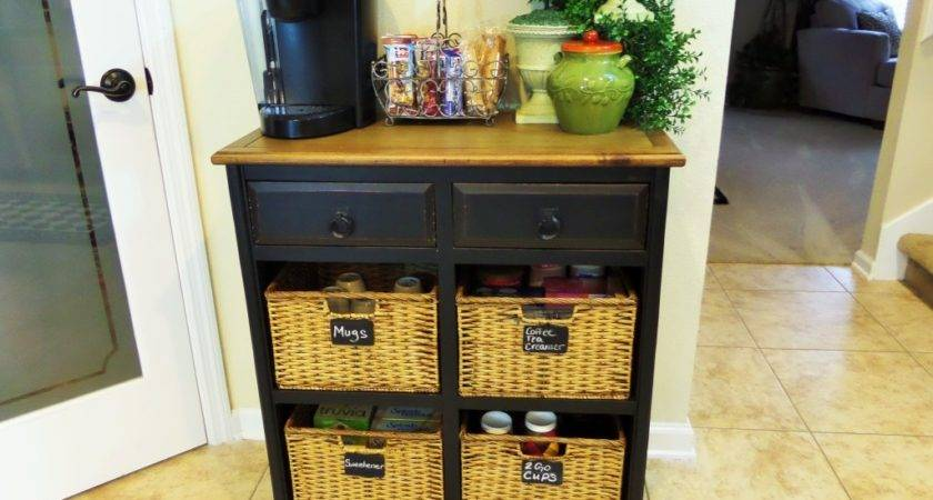 Home Coffee Station Guest Denise