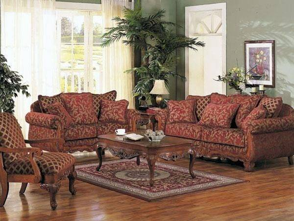 Home Decorating Traditional Living Room Sets