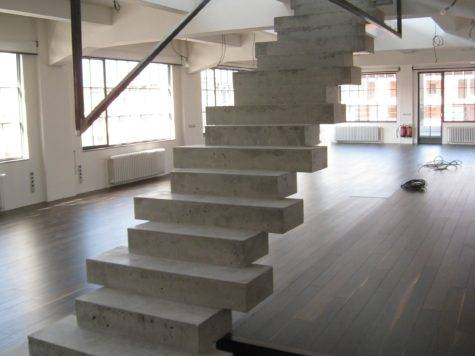 Home Dna Design Concrete Stairs