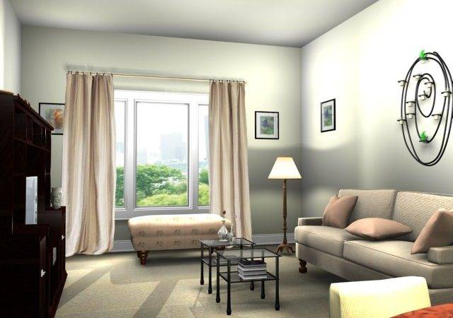 Home Office Designs Decorating Small Living Room