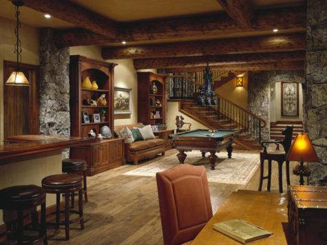 Home Theaters Man Cave Interior Designs Inspired