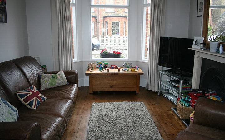 Homes Budget Front Room Makeover Life