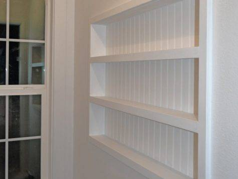 Hometalk Built Wall Shelving Reclaiming Hidden