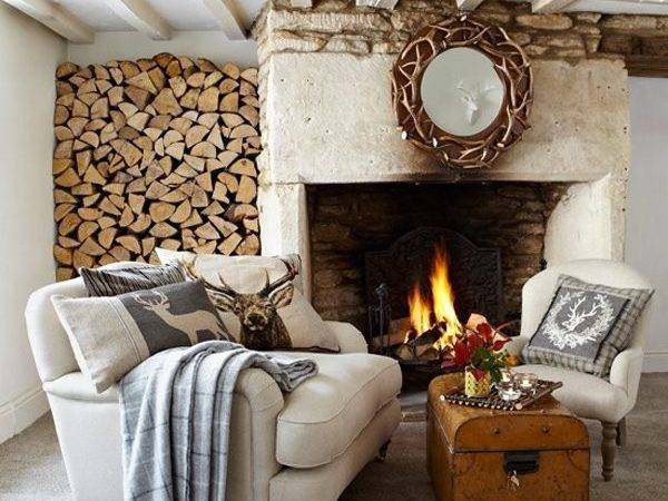 Homey Rustic Living Room Designs Home Design Lover