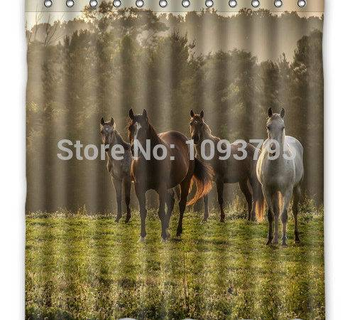 Horse Curtains Promotion Shopping Promotional