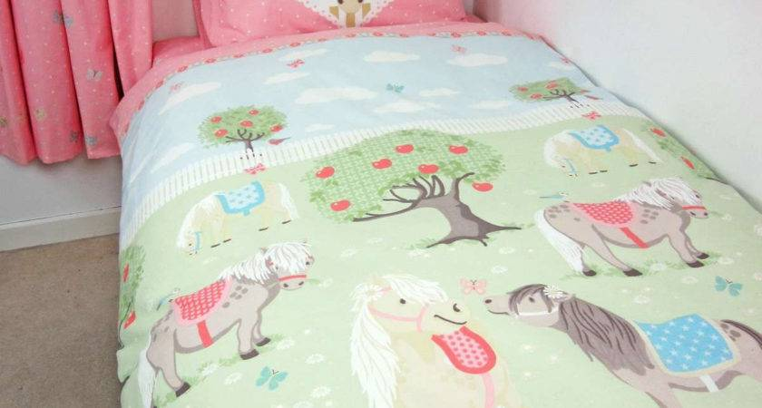 Horse Donna Cover Single Duvet Filly Gifts