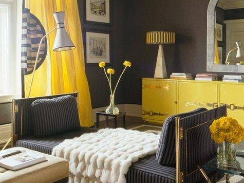 Hot Color Combo Yellow Gray