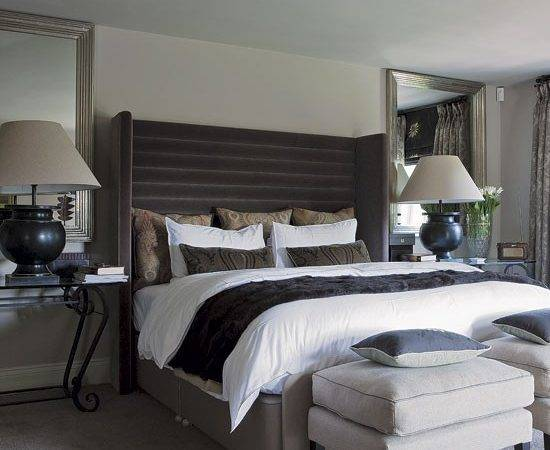 Hotel Chic Bedroom Edwardian Country House Decorating