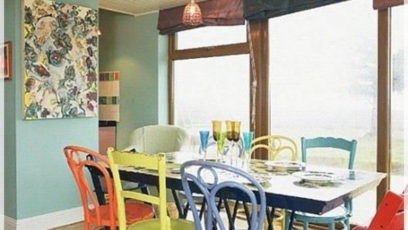 Ideas Decorate Dining Room Mixed Chairs Mix