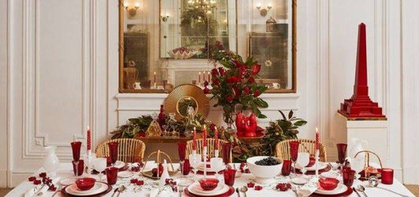 Ideas Decorate Your Table Christmas Dinner